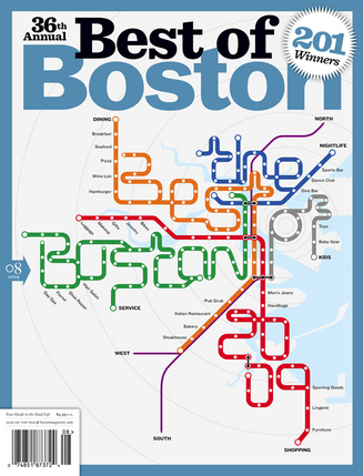 Boston magazine Best of Boston 2009 cover