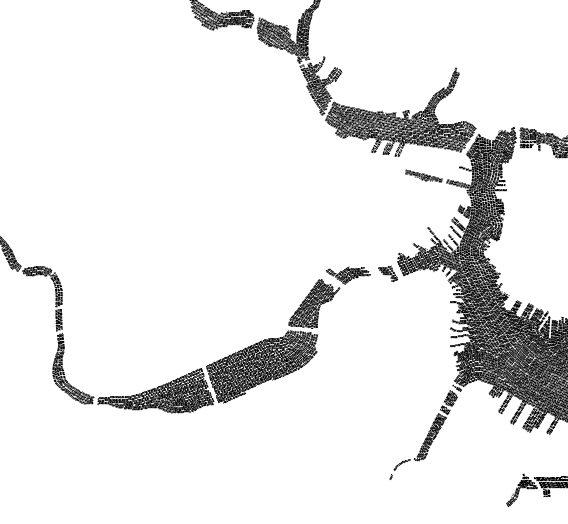 Early progress on Boston typography map