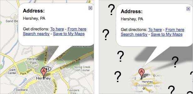 Hershey maps