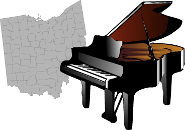 Ohio is a piano
