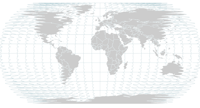 Crazy Robinson projection
